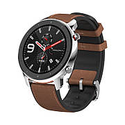 Умные смарт-часы Amazfit GTR Stainless Steel 47mm