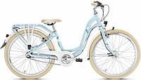 Детский велосипед Puky SKYRIDE 24-7 ALU, для девочек с 8 до 12 лет светло голубой