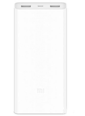 Универсальная батарея Xiaomi Mi power bank 2C 20000mAh White, фото 2