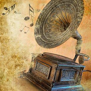 Ретро проигрыватели, граммофоны и радио Daklin