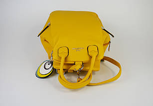 Сумка-рюкзак Polina & Eiterou 2066 Желтый, фото 3