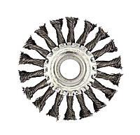Щетка дисковая витая проволока 180мм
