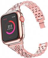 Ремешок ХоКо для Apple Watch 38/40mm Rose Gold