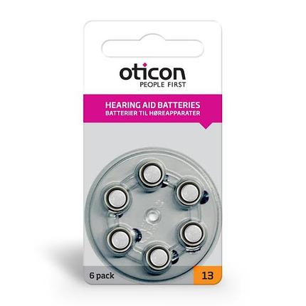 Батарейки для слуховых аппаратов Oticon, Германия, фото 2