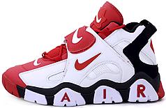 Мужские кроссовки Nike Air Barrage Mid Red/White/Black AT7847-102, Найк Аир Баррадж