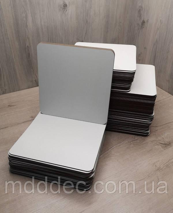 Подложка для торта квадрат белая 23*23 см Подставка под торт.Усиленная подложка для торта