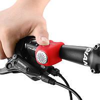 Электронный велосипедный звонок RockBros BuzZzze Красный (6060102)