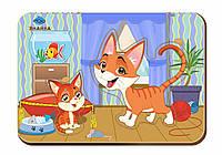 Деревянный вкладыш «Мама и детеныш», кошки-2