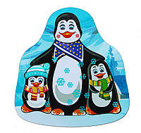 Деревянный вкладыш «Пингвины»