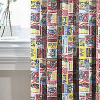 Комплект Декоративных Штор в детскую Испания Гран-при, арт. MG-133570, 170*135 см (2 шт.), фото 1