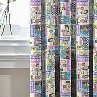 Комплект Декоративных Штор в детскую Испания Кафе мороженного, арт. MG-133571, 170*135 см (2 шт.), фото 1