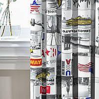 Комплект Декоративных Штор в детскую Испания New York, арт. MG-139749, 275*145 см (2 шт.)