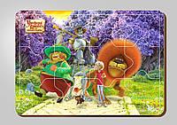 Деревянный паззл, 12 деталей, Серия «Урфин Джюс и его деревянные солдаты»