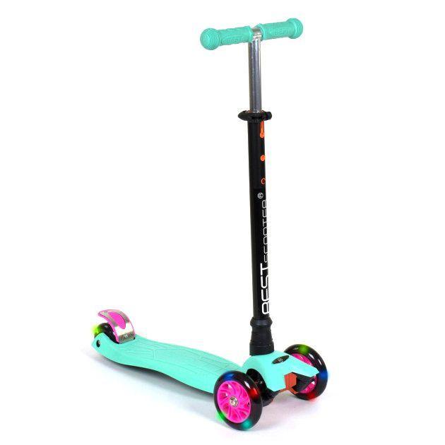"""Самокат триколісний """"Best Scooter. MAXI"""" (бірюзовий) (466-113/А2461)"""