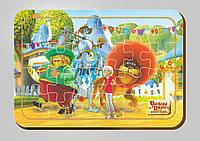 Деревянный паззл, 24 детали, Серия «Урфин Джюс и его деревянные солдаты»