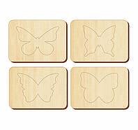 Трафарети «Метелики», 100*140 мм, 063108, фото 1