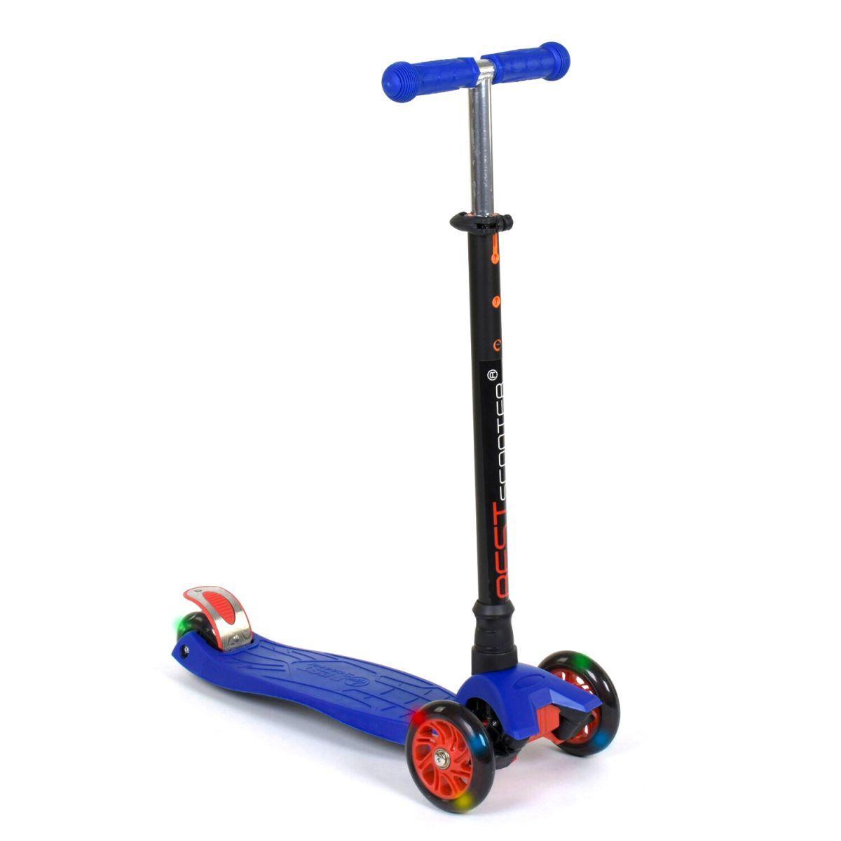 "Самокат трехколесный ""Best Scooter. MAXI"" (синий) (466-113/А2496)"