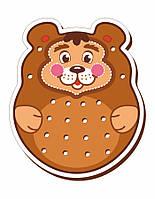 Шнурівка кольорова, «Ведмідь»