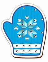 Шнурівка кольорова, «Рукавиця блакитна»