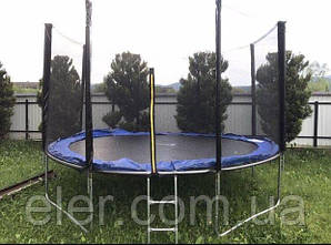 Батут детский  SkyJump Польща 252см на 120кг Акційна ціна
