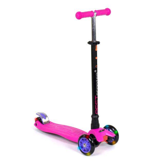 """Самокат трехколесный """"Best Scooter. MAXI"""" (розовый) (466-113/А2443)"""