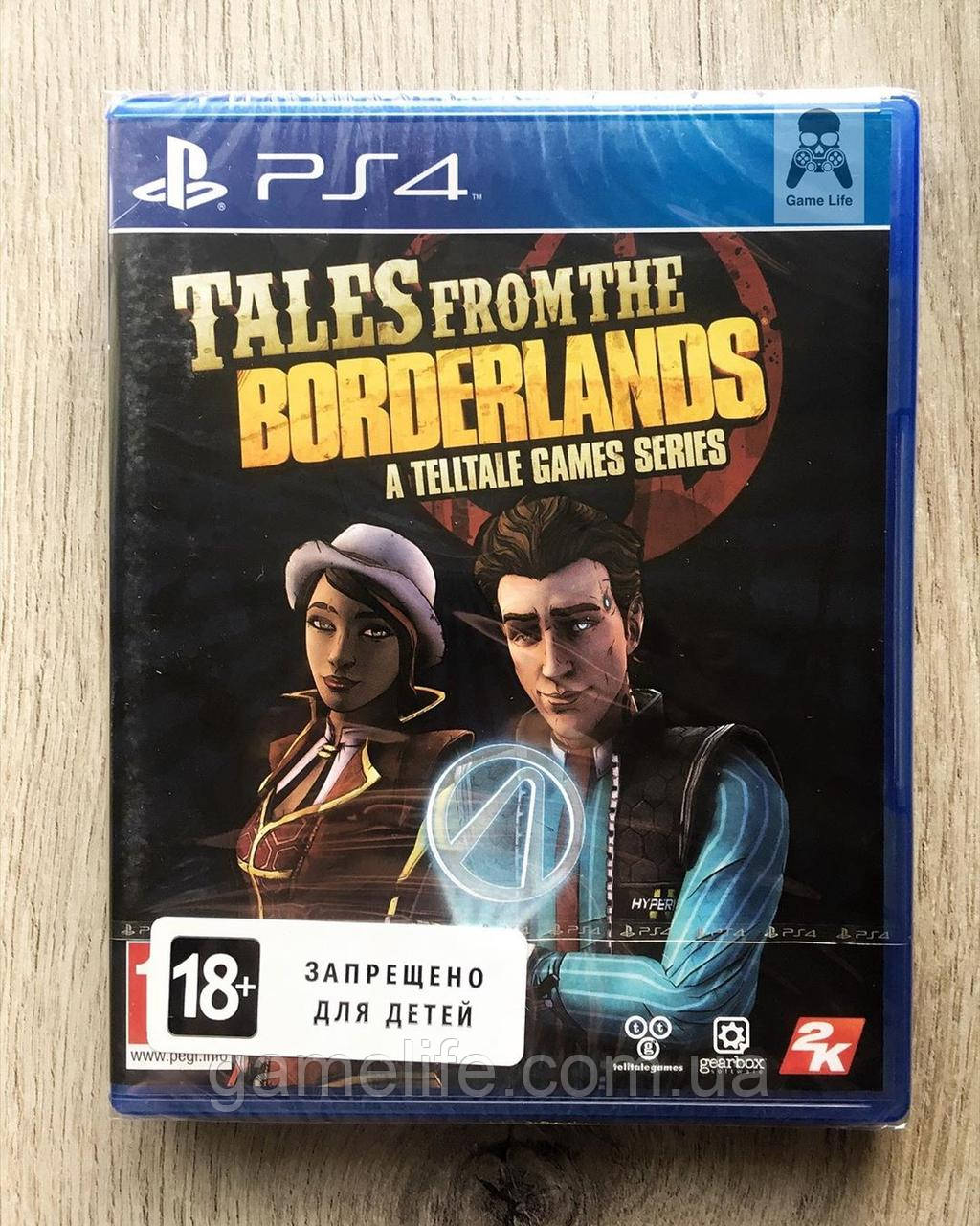 Tales from the Borderlands A Telltale Games Series (англ.) PS4
