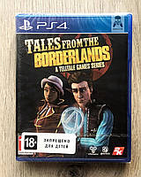 Tales from the Borderlands A Telltale Games Series (англ.) PS4, фото 1
