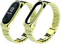 Ремешок XoKo Premium для Mi Band 3/4 Gold