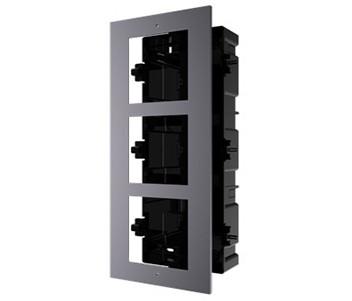 DS-KD-ACF3/Plastic Врезная монтажная рамка на 3 модуля