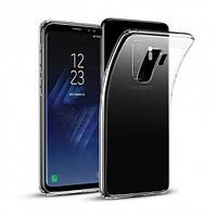 Чехол силиконовый прозрачный для Samsung S9 Plus, 0.5mm