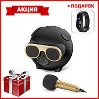 Портативная Bluetooth колонка M60 + Умные часы Smart Watch Смарт часы Фитнес браслет Band M3 в ПОДАРОК
