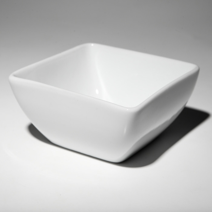 """Салатник квадратный 4.6"""" (11*6 см, 330 мл)  F0265 4,6"""