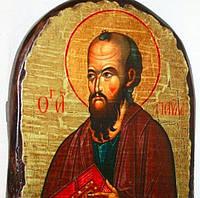 """Икона под старину """"Павел святой апостол"""" арка 17*23 см (STD-Икона - 163), фото 1"""