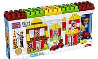 Конструктор Mega Bloks - Дружественная ферма (Friendly Farm, First Builders), 70 дет, 1+ (CNG27)