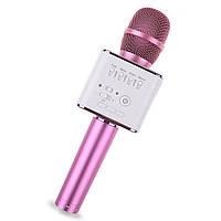 Микрофон-караоке RIAS Q9 с динамиком и чехлом (4_770828589), фото 1