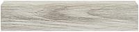 Плинтус Dekor Plast LL003 Дуб Молочный пластиковый, плинтус напольный, с кабель каналом, плинтус двухсоставной