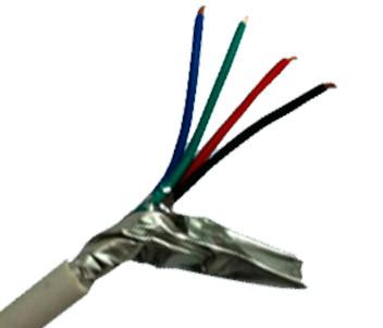 Кабель 4x0.22 Бухта сигнального кабеля 4x0.22 (Вектор)(100М)