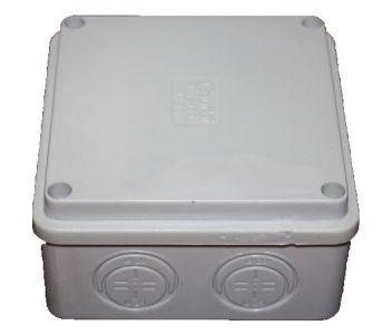 COURBI 100x100x50 серая Коробка распределительная