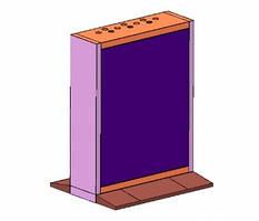 "CABINET-55 ""BASE-HKC H=800 55"" LCD Display Unit Modular Pedestal Bracket"