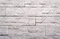 "Плитка Гипсовая ""DNISTER SANDSTONE""WHITE/KLVIV DEKOR (0.62 м.кв х 10уп.) Акция"