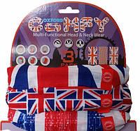 Мультифункциональный головной убор Oxford Comfy Union Jack (3pk.)