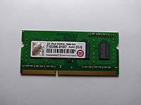 Оперативная память для ноутбука SODIMM Transcend DDR3L 2Gb 1600MHz PC3L-12800S (710396-0107) Б/У, фото 1