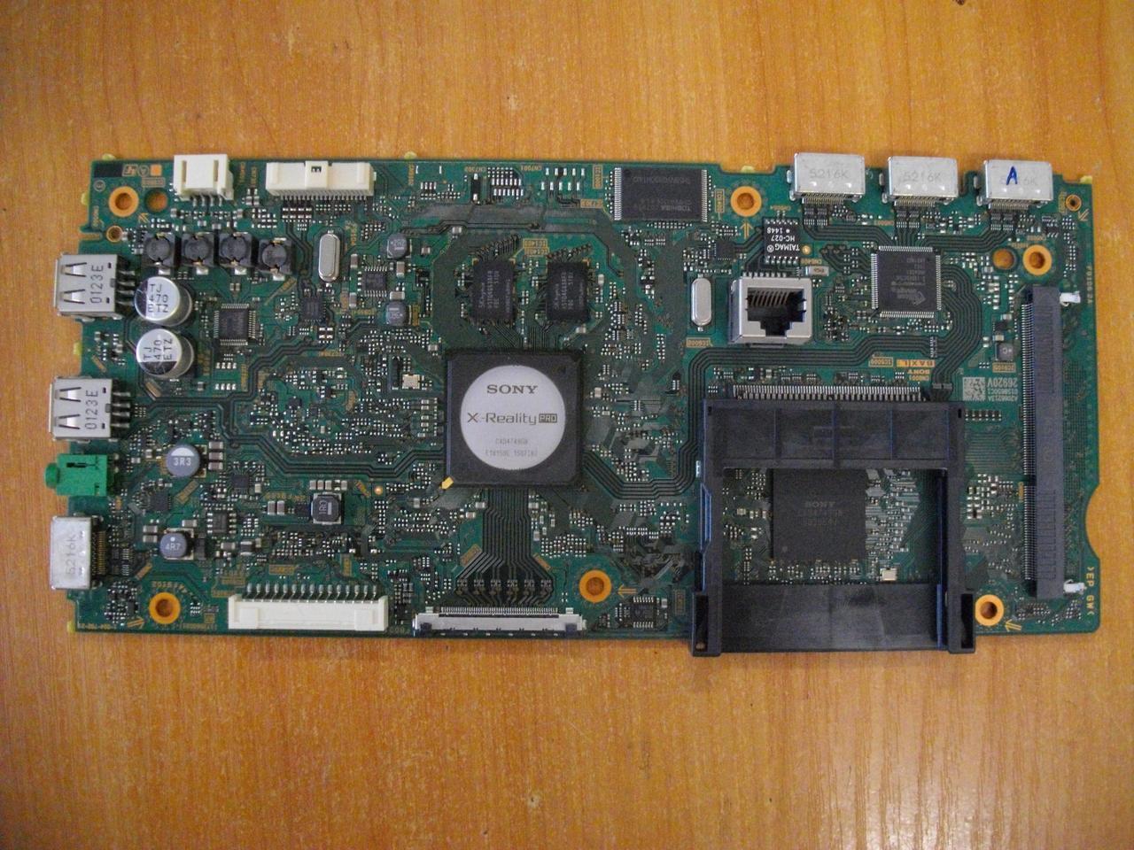 Плата системная, материнская Sony KDL-40W705C, A2066213A, 1-894-792-21, 173566021, 0158650C1, 26920V.