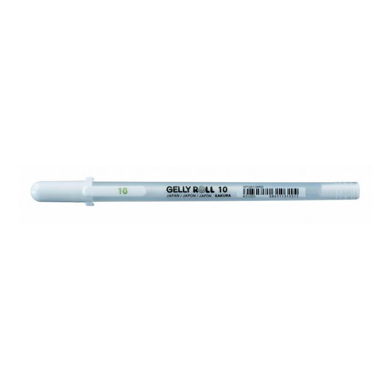 Ручка гелевая Sakura Gelly Roll Basic белый 0,5мм BOLD (84511310315)