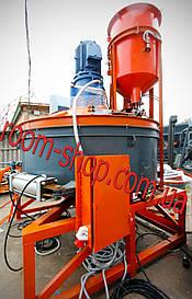 Новинка! Бетонозмішувач (растворосмеситель, бетономішалка) з дозаторами води або цементу
