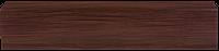 Плинтус Dekor Plast LL021 Дуб Венге пластиковый, напольный, плинтус с кабель каналом, плинтус из двух частей