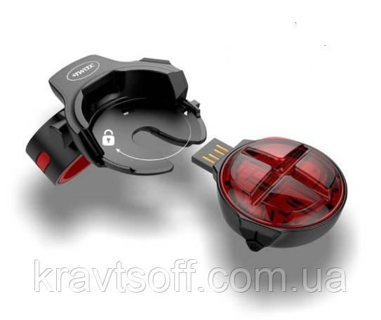 Задний фонарь для велосипеда TWOOC T-003