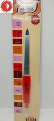 Пилочка для ногтей La Rosa металлическая с резцом 14 см NF62
