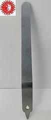Пилочка для ногтей La Rosa металлическая лазерная 10 см NF25