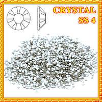 Набор Камни Стразы Diamond 50 шт. CRYSTAL  SS 4 (Серебро)